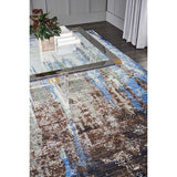 RH006 Blue-Vintage-Area Rugs Weaver