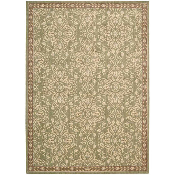 RI01 Green-Traditional-Area Rugs Weaver
