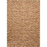 RI05 Brown-Animal Print-Area Rugs Weaver