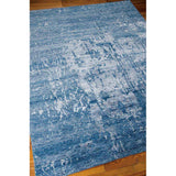 SHA10 Blue-Transitional-Area Rugs Weaver