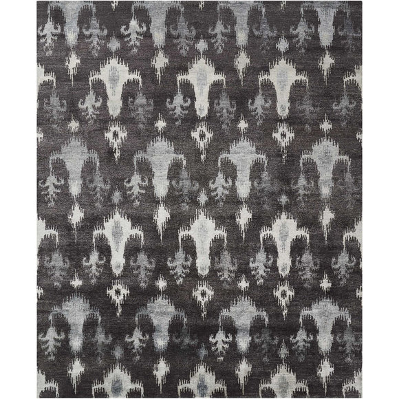 SHA09 Grey-Vintage-Area Rugs Weaver