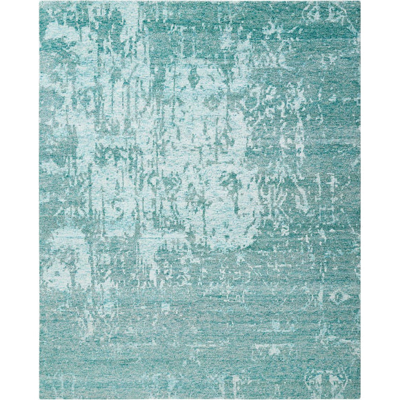 SHA10 Turquoise-Transitional-Area Rugs Weaver