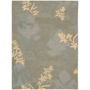 SKY01 Green-Transitional-Area Rugs Weaver