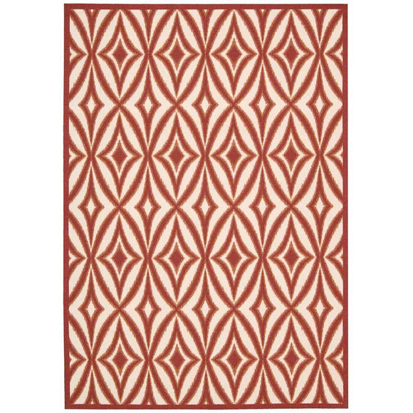 SND19 Red-Outdoor-Area Rugs Weaver