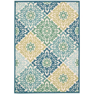 SND23 Blue-Outdoor-Area Rugs Weaver