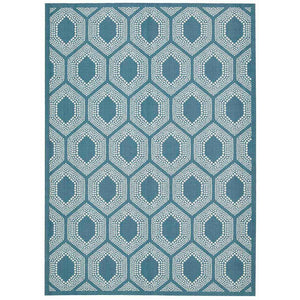SND26 Turquoise-Outdoor-Area Rugs Weaver