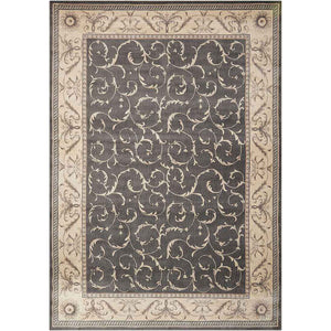 ST02 Charcoal-Traditional-Area Rugs Weaver