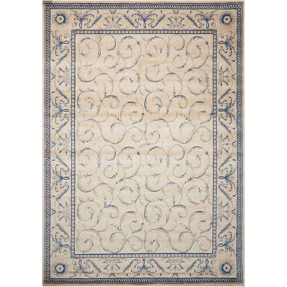 ST02 Ivory-Traditional-Area Rugs Weaver