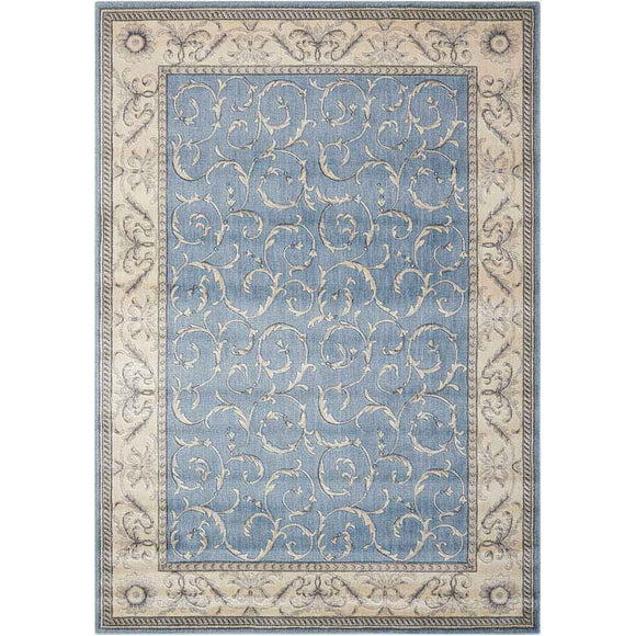 ST02 Blue-Traditional-Area Rugs Weaver