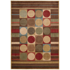 ST80 Multi-Modern-Area Rugs Weaver