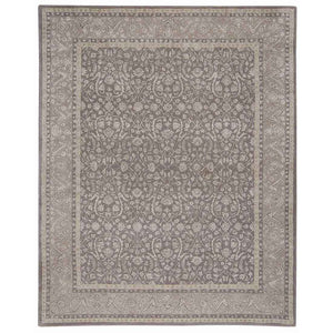SYM04 Grey-Traditional-Area Rugs Weaver