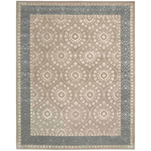 SYM07 Taupe-Traditional-Area Rugs Weaver