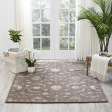 SYM10 Grey-Traditional-Area Rugs Weaver