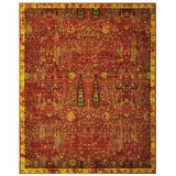 TML04 Red-Vintage-Area Rugs Weaver