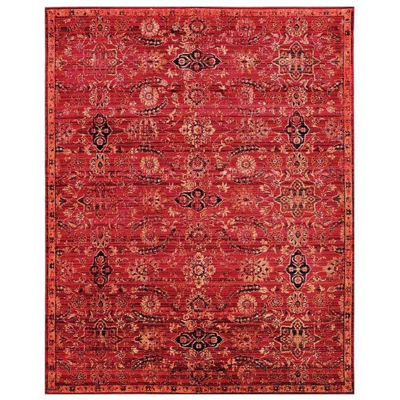 TML07 Red-Vintage-Area Rugs Weaver