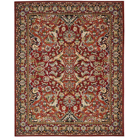 TML15 Red-Vintage-Area Rugs Weaver