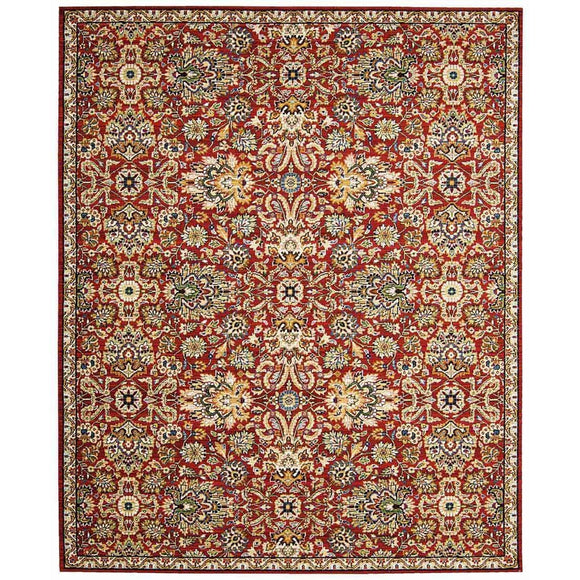 TML17 Red-Vintage-Area Rugs Weaver