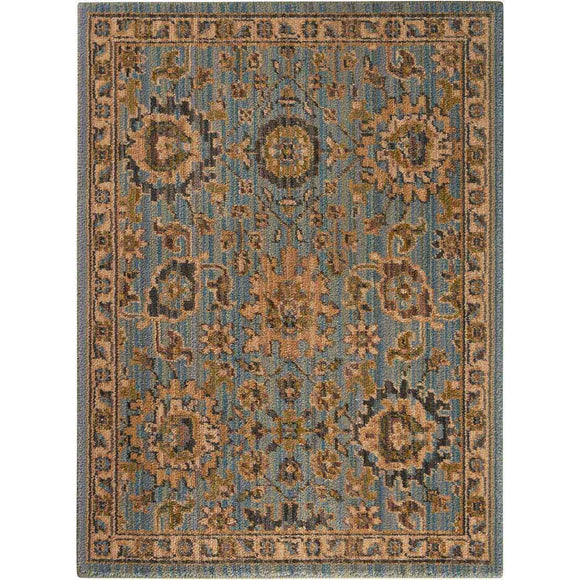 TML19 Blue-Vintage-Area Rugs Weaver