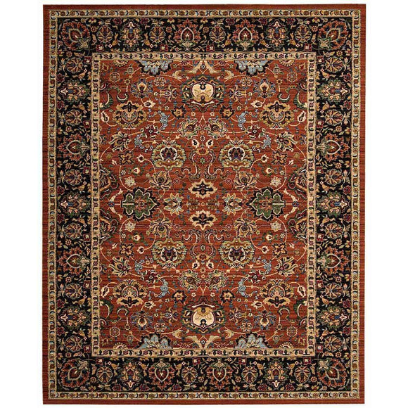 TML20 Brown-Vintage-Area Rugs Weaver