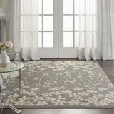 TRA04 Grey-Casual-Area Rugs Weaver