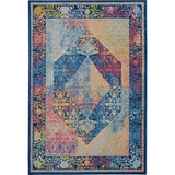 ANR04 Blue-Vintage-Area Rugs Weaver