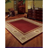 VA17 Burgundy-Traditional-Area Rugs Weaver