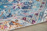 VKA01 Blue-Vintage-Area Rugs Weaver
