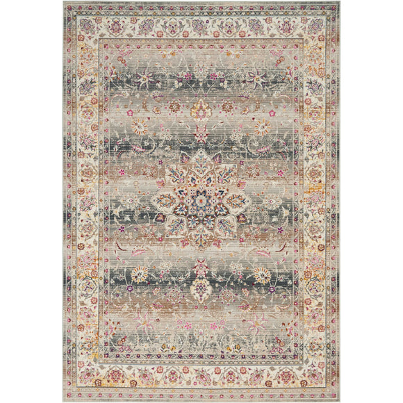 VKA01 Grey-Vintage-Area Rugs Weaver