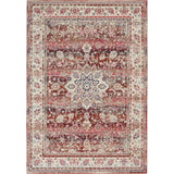VKA01 Red-Vintage-Area Rugs Weaver