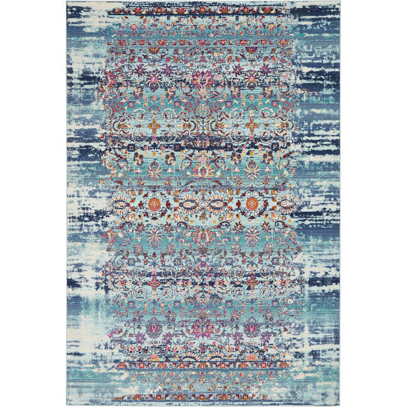 VKA02 Blue-Vintage-Area Rugs Weaver