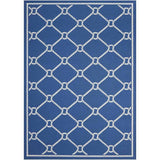SND41 Navy-Outdoor-Area Rugs Weaver