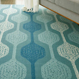 SND70 Aqua-Outdoor-Area Rugs Weaver
