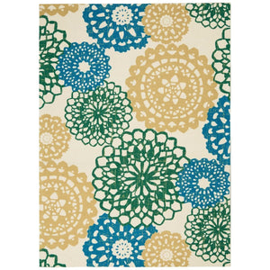 SND72 Ivory-Outdoor-Area Rugs Weaver