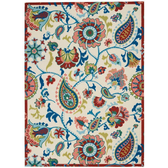 SND73 Ivory-Outdoor-Area Rugs Weaver