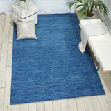 WGS01 Blue-Casual-Area Rugs Weaver
