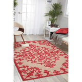 ALH12 Red-Outdoor-Area Rugs Weaver