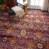 VKA03 Red-Vintage-Area Rugs Weaver