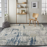 ATW05 BL|Grey-Modern-Area Rugs Weaver