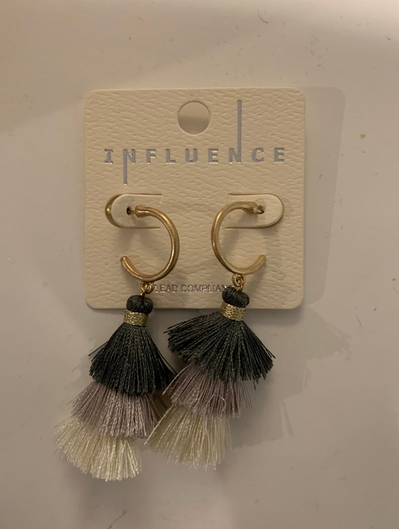 Bell Tassel Earrings