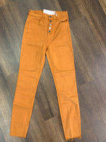 Cello High Rise Colored Jeans