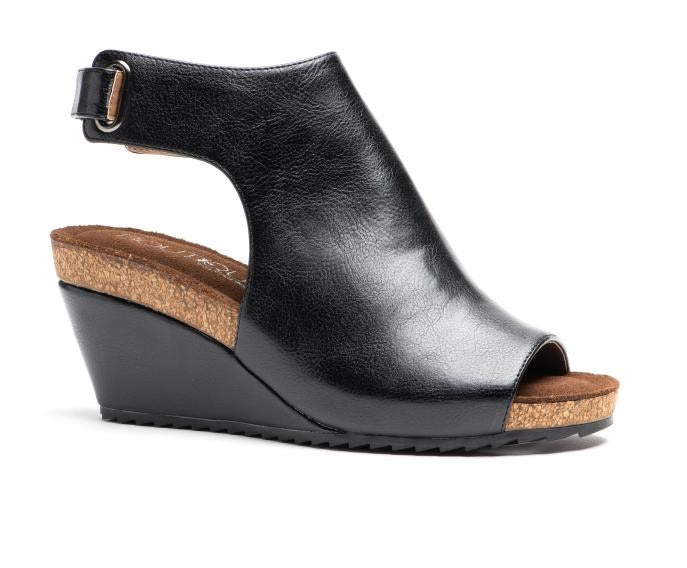 Calypso Black Smooth Wedge