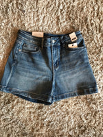 Judy Blue Light Denim Shorts