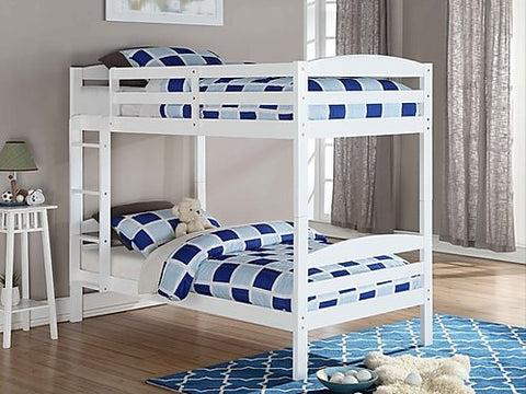 FurnitureMattressDirect⁽ᴰᵉᵃˡˢ⁾- Bunk Bed- White
