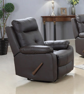 GENUINE LEATHER RECLINER CHAIR-A-AC116