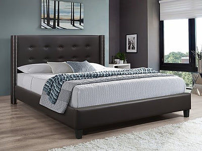 Brown PU Bed