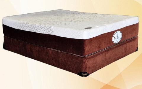 Image of FurnitureMattressDirec- 10 MEMORY GEL FOAM MATTRESS - COMFORT PLUS