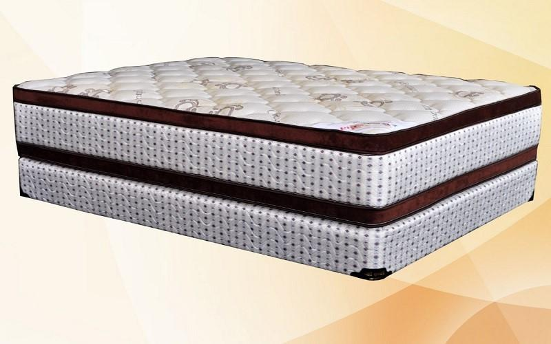 FurnitureMattressDirec- Orthopedic Double-Sided Euro Top Mattress