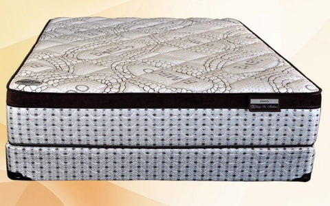 Image of FurnitureMattressDirec- Orthopedic Euro Top Pocket Coil Mattress - Amenity01