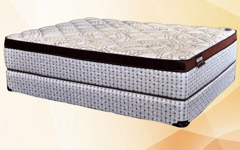 Image of FurnitureMattressDirec- Orthopedic Euro Top Pocket Coil Mattress - Amenity