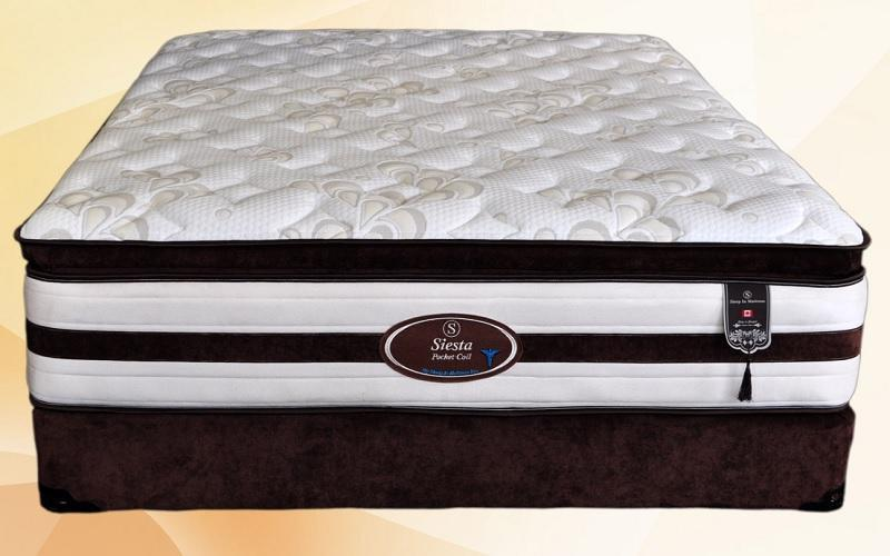 FurnitureMattressDirec- Orthopedic Pillow Top Pocket Coil Mattress - Siesta01